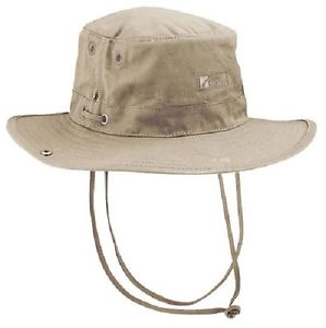 メンズウェア, 帽子  trekmates travel wide brim bush hat mosquito head net stone beige