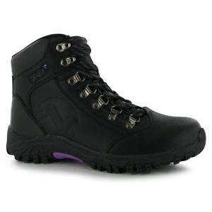 【送料無料】キャンプ用品 レディースハイキングブーツウォーキングgelert womens leather hiking boots outside walking ankle laced shoes footwear