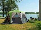【送料無料】キャンプ用品 ユルトglampingコールマンコルテス8テントcoleman cortes octagon 8 berth man person tent glamping yurt festival green