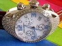 【送料無料】 franchi menotti melano swiss chrono crystal quartz watch italian design