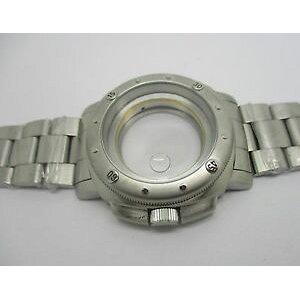 [Free shipping] boitier 44 mm en acie type panerai oyster tanche 10 atm pour eta 28242