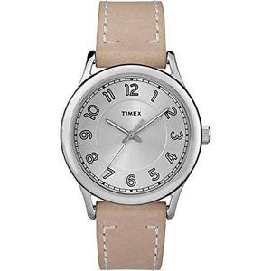 腕時計, 男女兼用腕時計 timex tw2r23200, womens tan leather strap watch, england, tw2r232009j