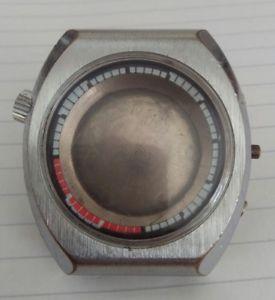 腕時計, 男女兼用腕時計 vintage big sicura breitling chronograph case retro for parts or to fix used