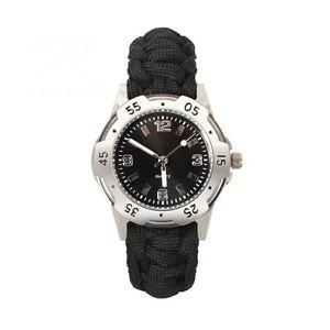 【送料無料】4253 rothco paracord bracelet watchwaterproof 30m depth 9 length