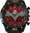 【送料無料】batman bat wings gt series sports wrist watch