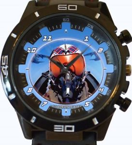 【送料無料】squadron leader pilot gt series sports wrist watch