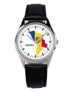 【送料無料】moldawien moldova souvenir geschenk fan artikel zubehr fanartikel uhr b1248