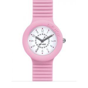 腕時計, 男女兼用腕時計 orologio hip hop 32mm silicone colorato numbers rose swarovski refhwu0638