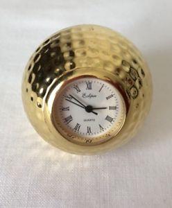 【送料無料】tisch uhr eclipse quartz golf ball