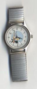 【送料無料】horlogerie loup le montre, tex avery loup bracelet mtal