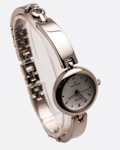 腕時計, 男女兼用腕時計 andre francoiswomens stainless steel silver tone metal links analog watch