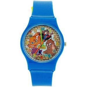 腕時計, 男女兼用腕時計 moshi monsters blue boys analogue plastic strap watch mm017