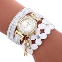 【送料無料】women watch casual analog leather bracelet watches