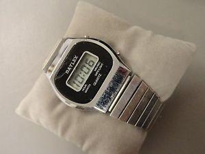 腕時計, 男女兼用腕時計 mens daylex vintage digital chrono watch 7 nice condition battery