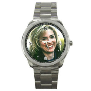 【送料無料】hillary clinton watch sport metal watch