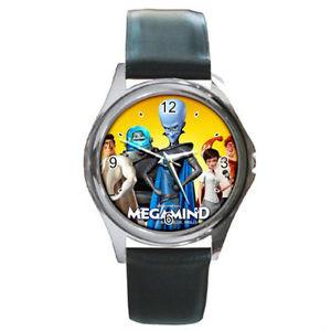 【送料無料】megamind the movie watch round metal wristwatch