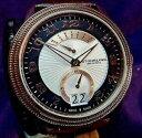 【送料無料】stuhrling 788 03 classique swiss quartz day amp; date brown leather strap watch