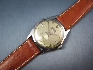 【送料無料】vintage lord elgin bessemer amp; lake erie railroad mens presentation watch 1956