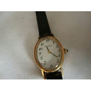 [Free shipping] vintage ladies movado zenith movement cal305 manual 14k gold case