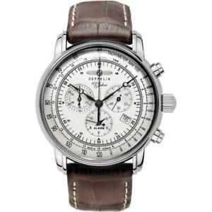 腕時計, 男女兼用腕時計 zeppelin 100 years chronograph mens watch 76801