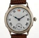 【送料無料】rotherhams english made vintage silver hallmarked wristwatch working order