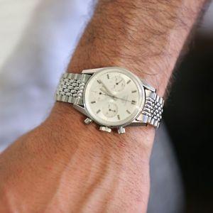 腕時計, 男女兼用腕時計 beads of rice bracelet compatible w heuer carrera 2447 cs3111 hel likeend link