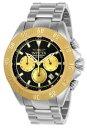 【送料無料】invicta speedway 22399 mens gold tone round chronograph date analog watch