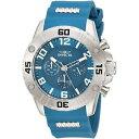 【送料無料】invicta mens pro diver 22697 silicone, stainless steel chronograph watch