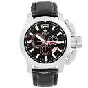 【送料無料】metalch chronometrie chrono series mens chronograph swiss made watch 2120 47mm