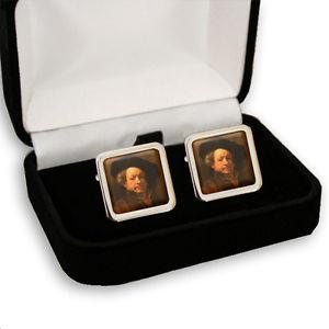 【送料無料】メンズアクセサリ— レンブラントオランダメンズカフスボタンボックスrembrandt dutch painter men's cufflinks gift box engraving