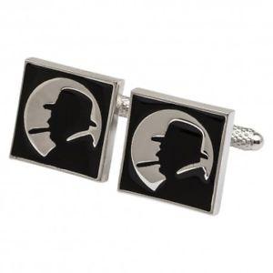 メンズジュエリー・アクセサリー, カフス  winston churchill silhouette cufflinks