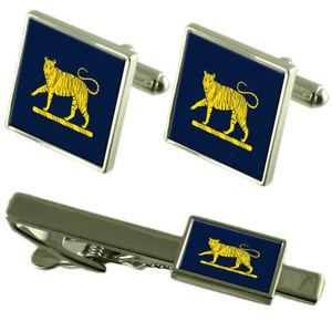【送料無料】メンズアクセサリ— ウェールズプリンセスロイヤルライオンタイクリップカフスボタンarmy the princess of wales's royal regiment lion tie clip cufflinks matching set