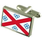 【送料無料】メンズアクセサリ— ペンリススターリングフラグカフスリンクpenrith city england sterling silver flag cufflinks engraved box