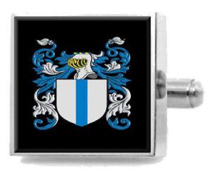 【送料無料】メンズアクセサリ— イギリスカフスボタンボックスtwitchett england heraldry crest sterling silver cufflinks engraved box