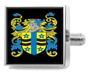 メンズジュエリー・アクセサリー, カフス  biddellebiddelle england heraldry crest sterling silver cufflinks engraved box
