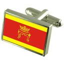 【送料無料】メンズアクセサリ− トベリロシアスターリングフラグカフスリンクtver city russia sterling silver flag cufflinks engraved box