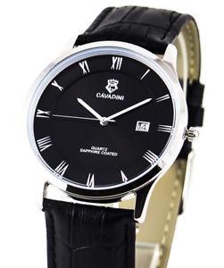 腕時計, 男女兼用腕時計  ejecutiva cavadini serie yukon puro lujo reloj para hombre rmish zi caja