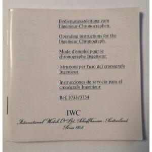 【送料無料】腕時計 ウォッチ エンジニアクロノグラフiwc manual de instrucciones para ingeniero chronograph ref 3733