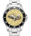 【送料無料】腕時計 ウォッチ アラームカブリオレタイプギアドライバーkiesenberg reloj 20210 con motivo de coche para karmann ghia conductor