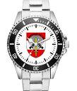 【送料無料】腕時計 ウォッチ レトロロゴエンブレムクロックnumquam retro regalo emblema insignia reloj 1042