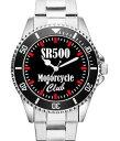 【送料無料】腕時計ウォッチオートバイクラブファンアクセサリアラームマーケティングsr500 motorcycle club regalo fan artculo accesorios mercadotecnia reloj 2159