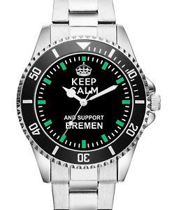 【送料無料】腕時計 ウォッチ ブレーメンアラームファンbremen fan regalo artculos artculos para amantes reloj 1306