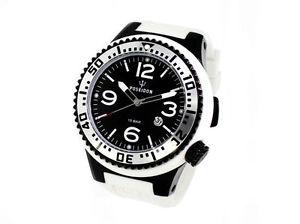 腕時計, 男女兼用腕時計  orologio uomo kienzle poseidon,cassa xl 52mm,150mt,bianco e nero,diver,man watch
