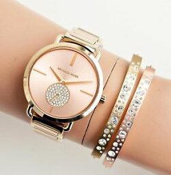 【送料無料】腕時計 ウォッチ ポーシャサドラドoriginal michael kors reloj mujer mk3706 portia bicolor rosa dorado oro nueva
