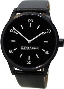腕時計, 男女兼用腕時計  wartburg reloj de hombre made in germany acero inoxidable cuero correa para