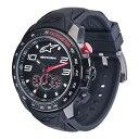 【送料無料】腕時計 ウォッチ アルパインスターズハイテクウォッチクロノシリコンストラップブラックブラックalpinestars tech watch chrono negro correa de silicona negronegro