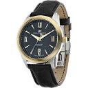 【送料無料】腕時計 ウォッチ フィリップゴールドスイスorologio uomo philip watch seahorse r8251196001 pelle nero gold swiss made