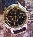 【送料無料】腕時計 ウォッチ ビンテージタイプクロノグラフvintage type chronograph valjoux 7730 military very good condition
