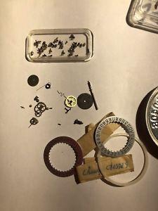 腕時計, 男女兼用腕時計  rare calibre 11 12 lot of parts nos heuer breitling chrono matic