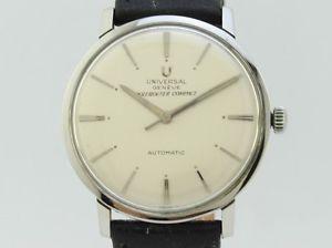 腕時計, 男女兼用腕時計  universal geneve polerouter compact automatic steel 23510j1